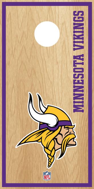 Minnesota Vikings Cornhole Boards -  ACL PRO NFL