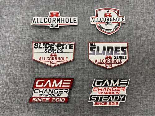 AllCornhole Velcro Patches - FREE SHIPPING