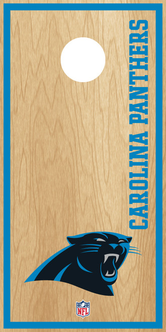 Carolina Panthers Cornhole Boards -  ACL PRO NFL