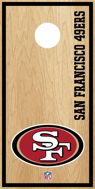 San Francisco 49ers Cornhole Boards -  ACL PRO NFL