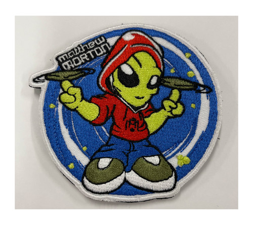 Matt Morton Alien Velcro Patches - FREE SHIPPING