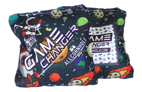 Out of This World Space Design GameChanger cornhole bags - SET OF 8