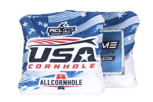 USA Cornhole Flag Design GameChanger cornhole bags - SET OF 8