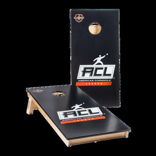 BLACK Official ACL PRO Cornhole Boards