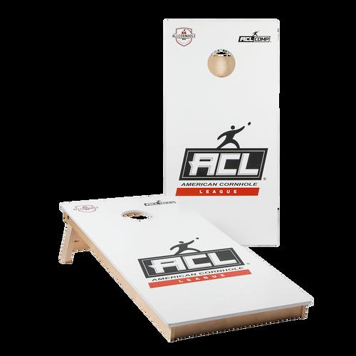 WHITE ACL Comp Series Cornhole Boards