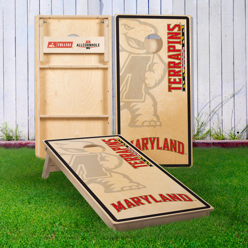 Officially Licensed Collegiate Cornhole Boards - University of Maryland