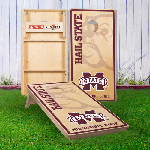 Officially Licensed Collegiate Cornhole Boards - Mississippi State University