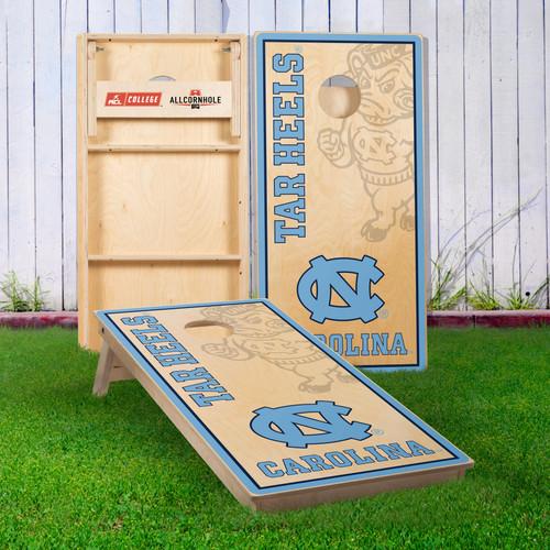 Officially Licensed Collegiate Cornhole Boards - University of North Carolina