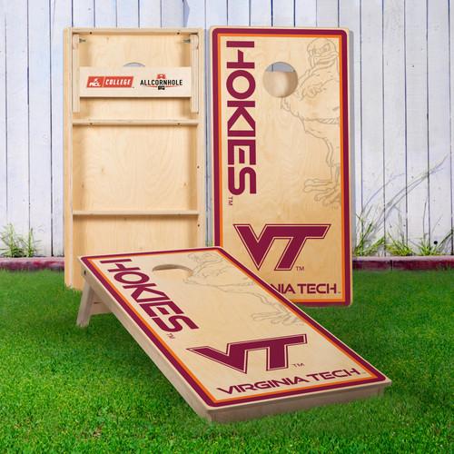 Officially Licensed Collegiate Cornhole Boards - Virginia Tech University