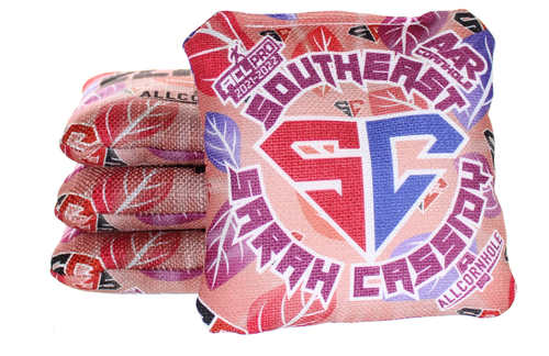 Sarah Cassidy All-Slides cornhole bags - SET OF 8 - Southeast Design