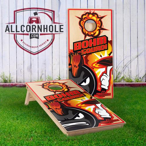 Austin Schlobohm Cornhole Boards
