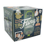 Fling Craft Cocktails Cucumber Lime Gin and Tonic (4pkc/12oz)
