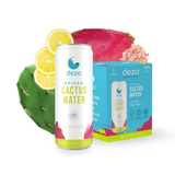 Dezo Spiked Cactus Water with Lemon (4pkc/12oz)