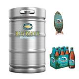 Kona Brewing Big Wave Golden Ale (15.5 GAL KEG)