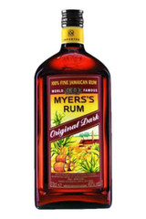 Enjoy the unique taste of Caribbean rum with Myers's Original Dark Rum. With the initial aroma of mahogany and charred wood, our dark rum satisfies with a mildly sweet and moderately full-bodied palate of dark caramel and toasted coconut husks. Made with Jamaican molasses, our 100% fine Jamaican rum is expertly boiled, fermented and distilled using both column and pot stills. Matured for up to 4 years in white oak barrels, our rum adds a delicious kick to cocktails and traditional cooking recipes. Simply add with cola and pour over ice for a classic mixed drink. Includes one 80 proof 750 mL bottle of Original Dark Rum. Myers's Rum gained its namesake in 1879 when founder, Fred L. Myers, started producing rum in Jamaica with his son. Since then, we have maintained his dedication to quality ingredients for every bottle of rum produced. Enjoy over 130 years of good rum with Myers's.