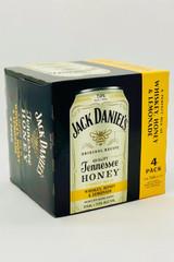 Jack Daniel's Tennessee Whiskey, Honey, & Lemonade (4pkc/355ml)