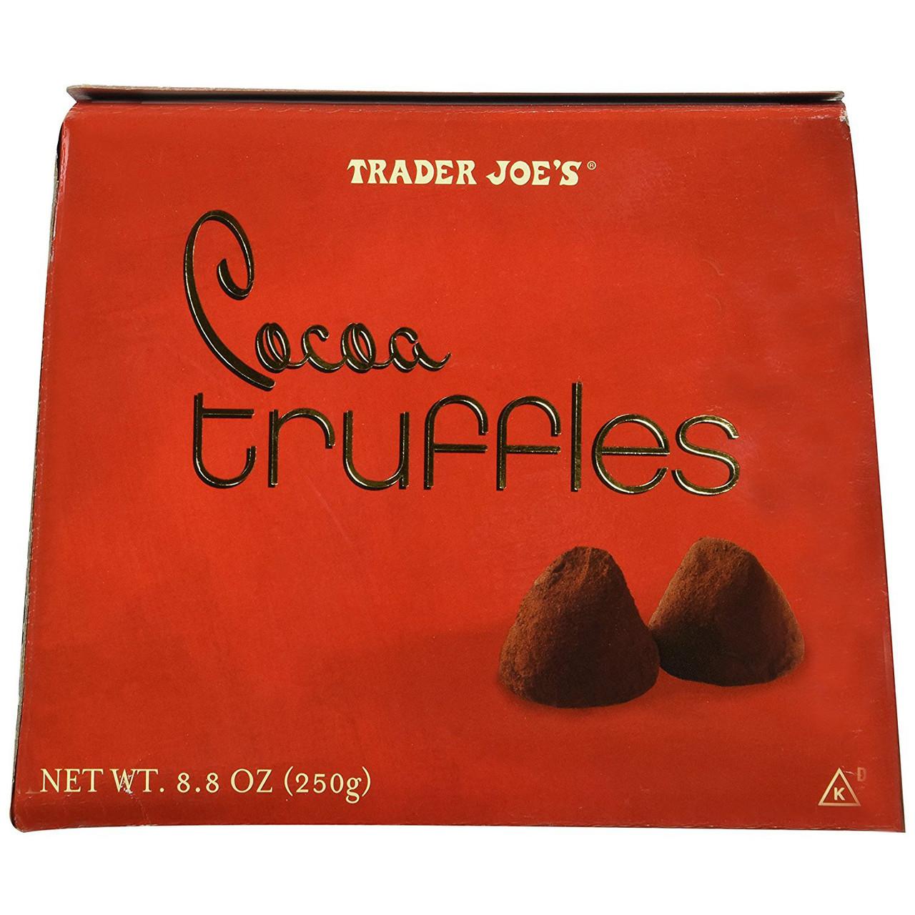 Trader Joe S Cocoa Truffles 8 8 Oz Box