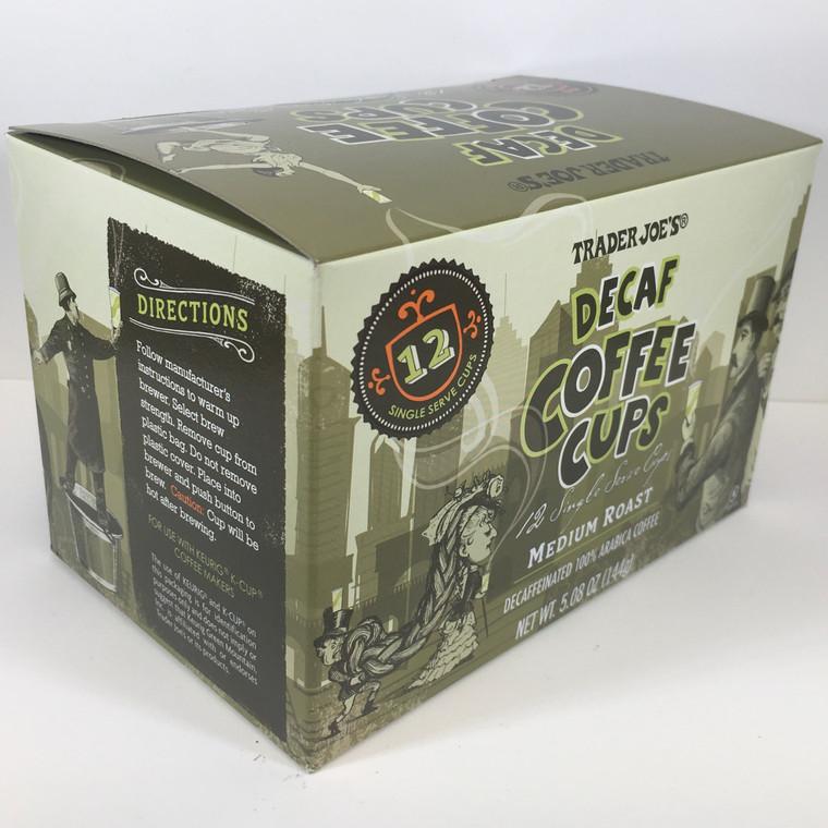 Trader Joe's Decaf Coffee Cups