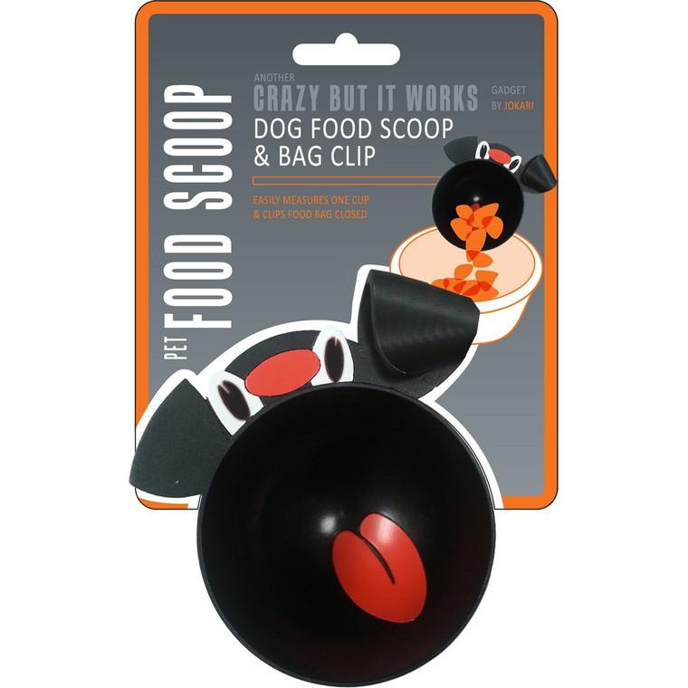 Jokari Pet Food Scoop & Bag Clip