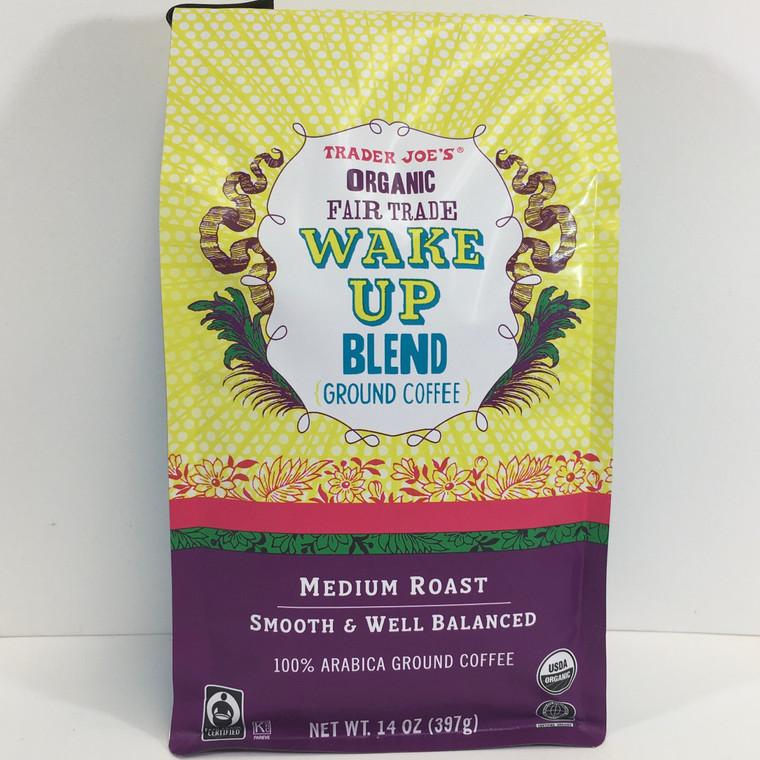 Trader Joe's Organic Fair Trade Wake Up Blend  Ground Coffee