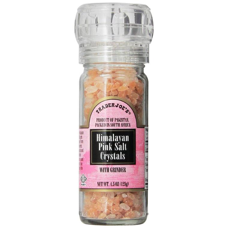 Trader Joe's Himalayan Pink Salt Crystals - 4.5 Oz.