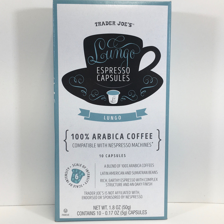 Trader Joe's Lungo Espresso Capsules