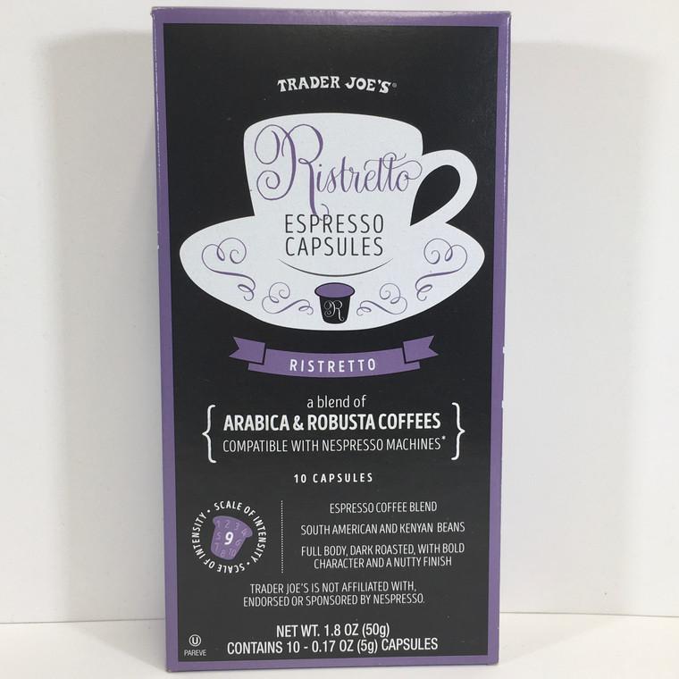 Trader Joe's Ristretto Espresso Capsules