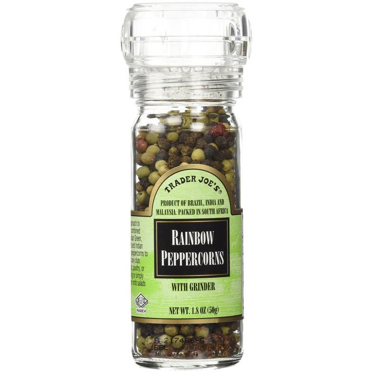Trader Joe's Rainbow Peppercorns , a Mixture of Brazilian Pink,indian Green and Black Pepper