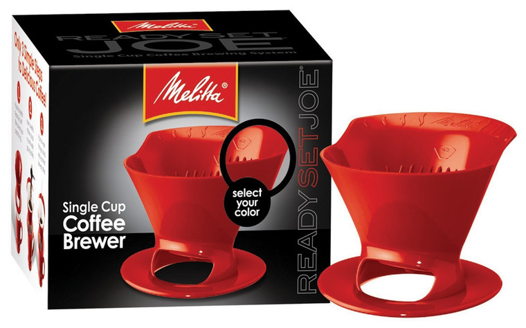 Melitta 64008 Red Ready Joe Filter Cone