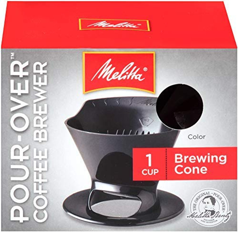 Melitta 64007 Black Ready Joe Filter Cone