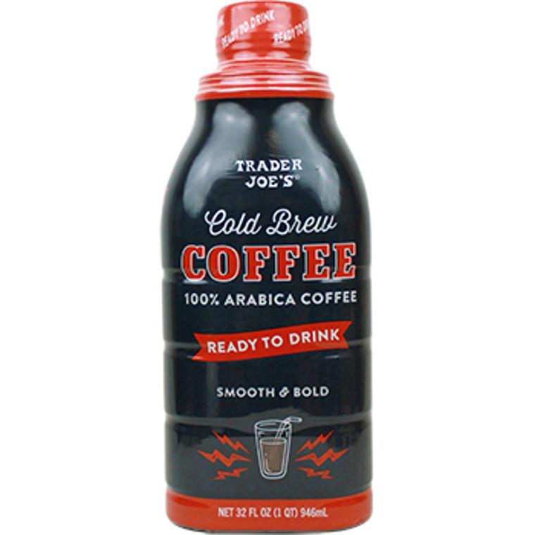 Trader Joe's New 100% Arabica Cold Brew Coffee