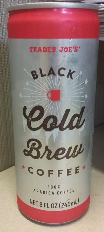 Trader Joe's Black Cold Brew Coffee