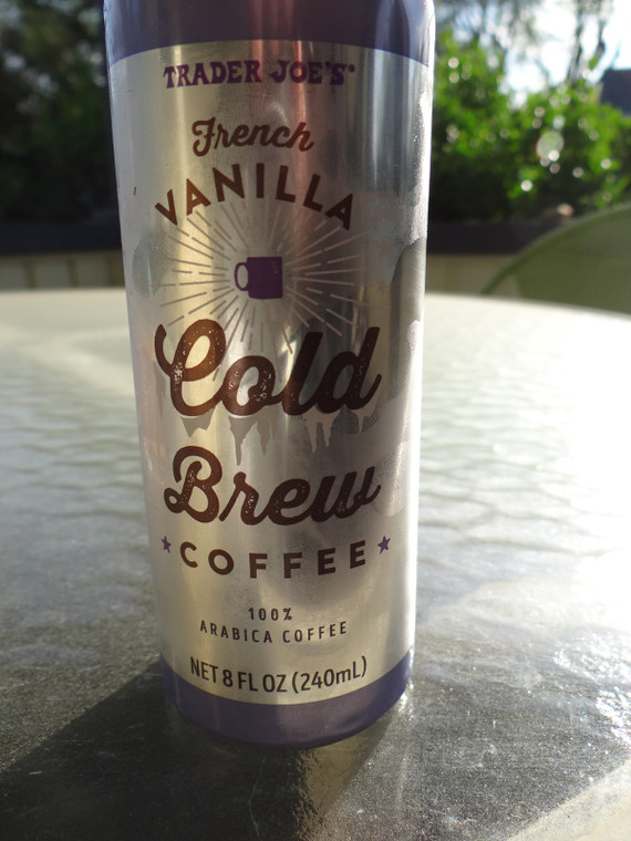 Trader Joe's French Vanilla Cold Brew Coffee