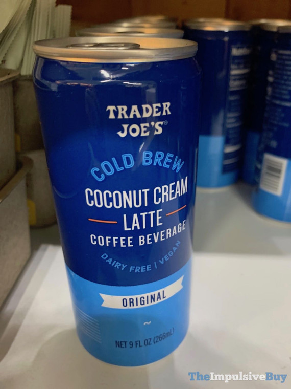 Trader Joe's Cold Brew Coconut Cream Latte Original