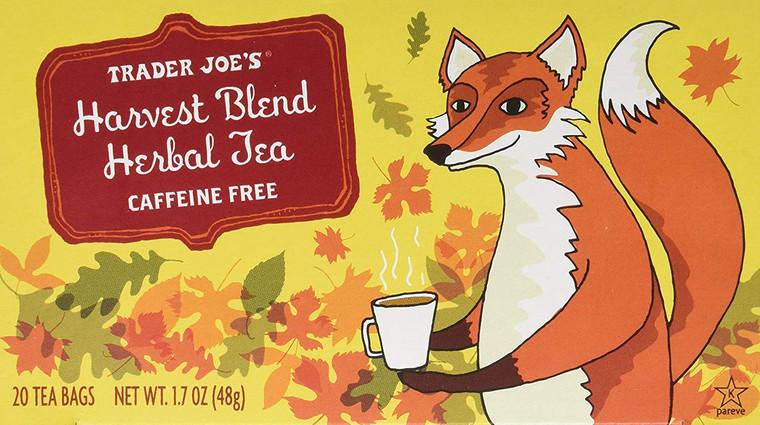 Trader Joe's Harvest Blend Herbal Tea