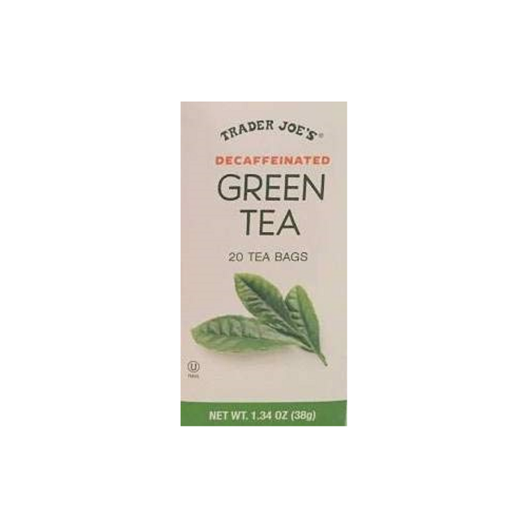 Trader Joe's Decaffeinated Green Tea