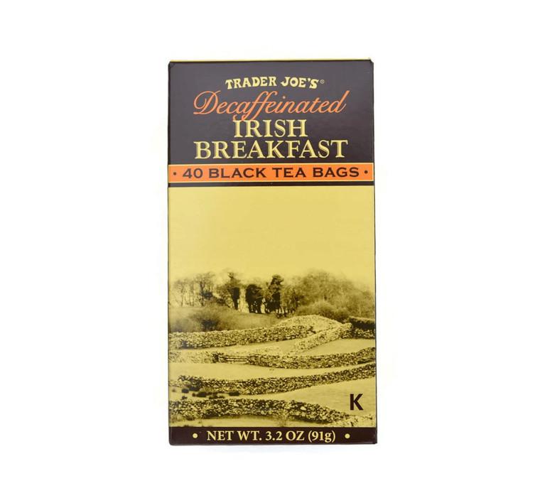 Trader Joe's Decaffeinated Irish Breakfast Tea