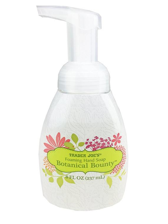 Trader Joe's Foaming Hand Soap - Botanical Bounty, 8 Ounce