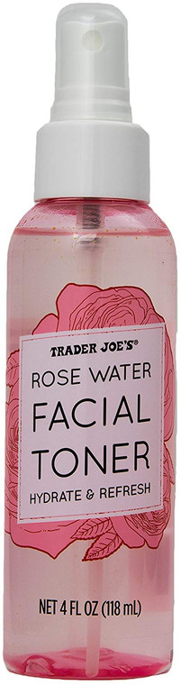 Trader's Joes Rose Water Facial Toner Hydrate and Refresh