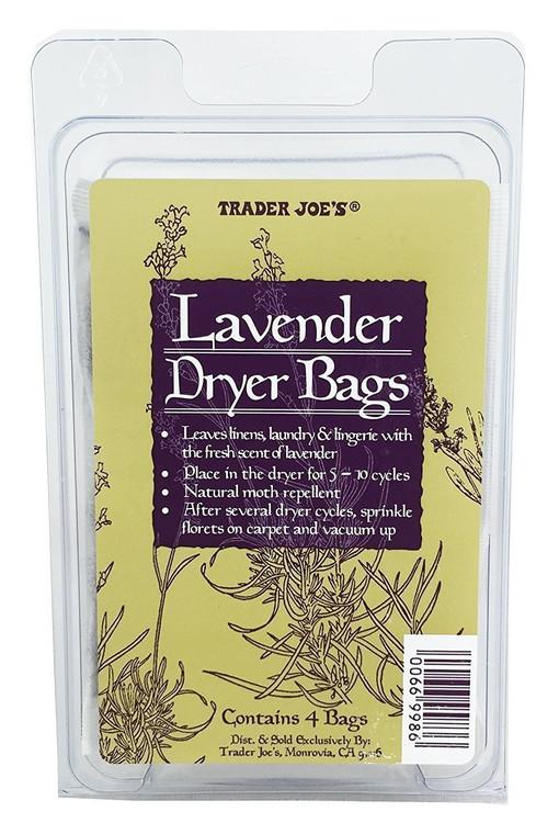Trader Joe's Lavender Dryer Bags