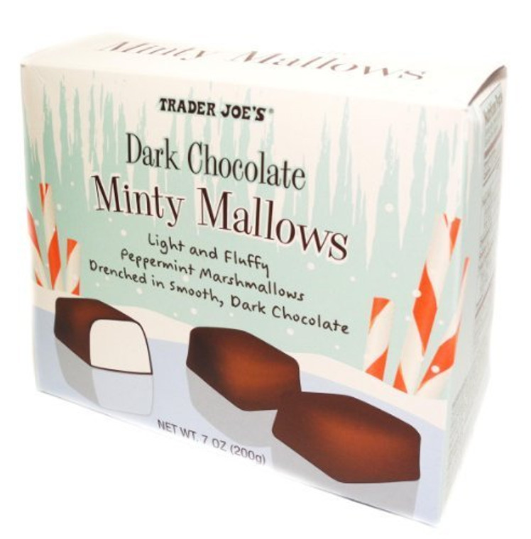 Trader Joe's Dark Chocolate Minty Mallows