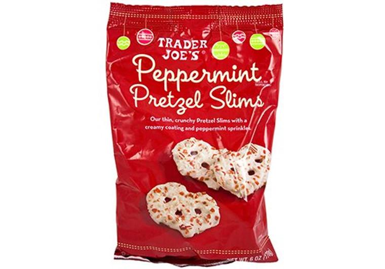 Trader Joe's Peppermint Pretzel Slims 6 oz (1 pack)