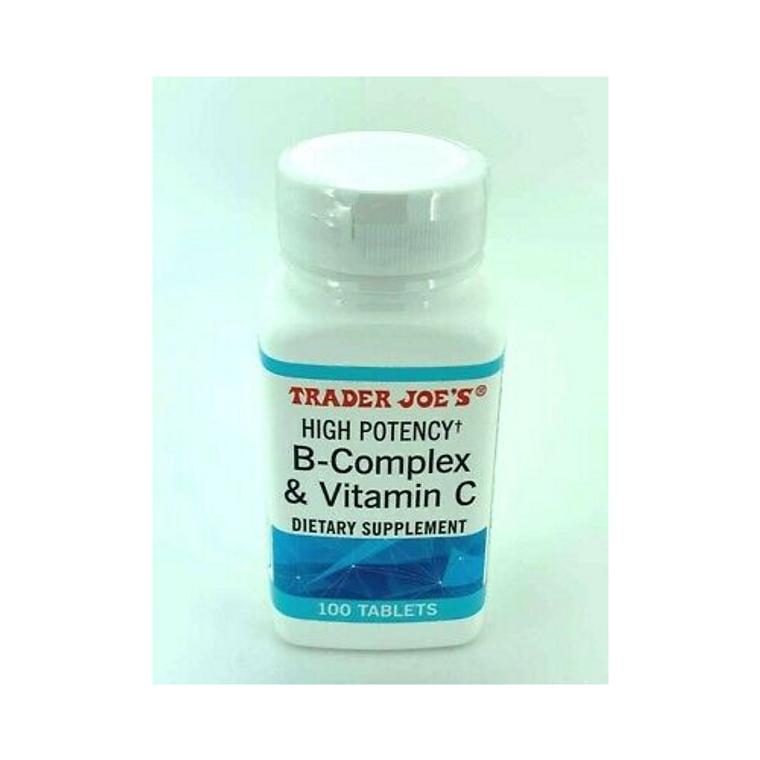 Trader Joe's High Potency B-Complex & Vitamin C