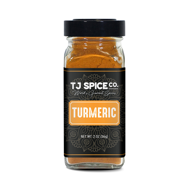 TJ Spices Ground Turmeric