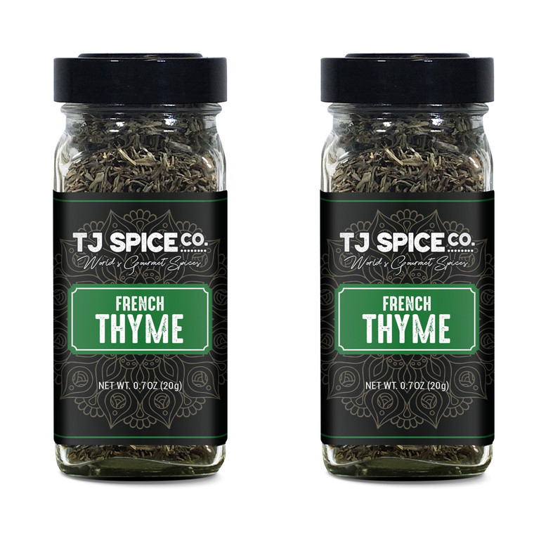 TJ Spices & Co. French Thyme (2 pack)
