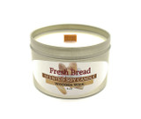 Fresh Baked Bread Wooden Wick Soy Candle