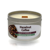 Hazelnut Coffee Wooden Wick Soy Candle