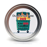 Dumpster Fire 2020 Wooden Wick Candle
