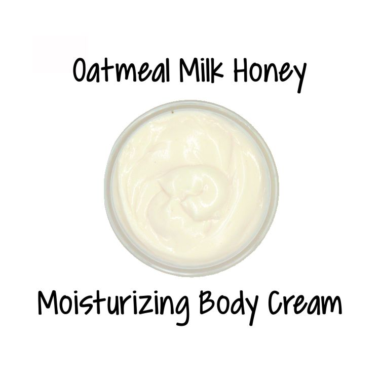 Oatmeal Milk and Honey Goat Milk Body Cream