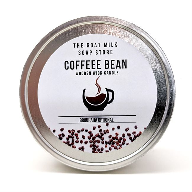 Coffee Bean Wooden Wick Candle